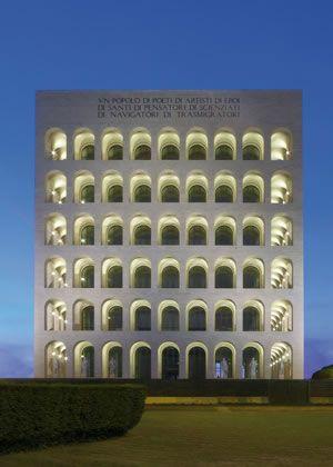 Palazzo della Civiltà Italiana - Simes S.p.A. luce per l'architettura