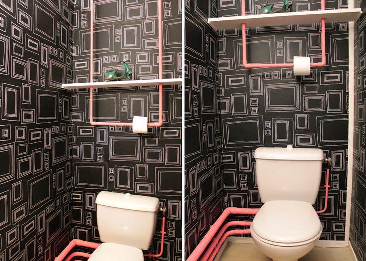 EllyBeth: Le relooking d'une petite pièce | Les toilettes