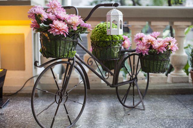 Bicicleta decorada | Flickr - Photo Sharing!