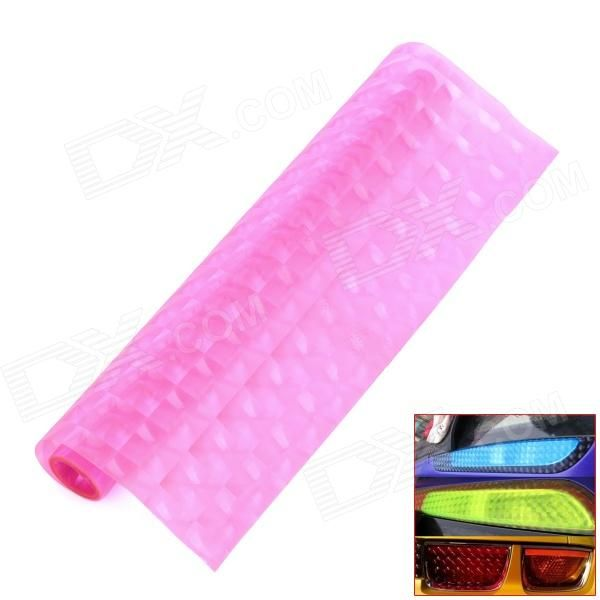 Model: DM001; Quantity: 1 piece(s); Material: PVC; Style: DIY Sticker; Application: Body; Color: Peach; Other Features: Without harming car headlamp, easy to apply/remove, without leaving any residue; Waterproof, sun block, good transparency, durable in use; Packing List: 1 x Headlamp light sticker; http://j.mp/1lktxTb