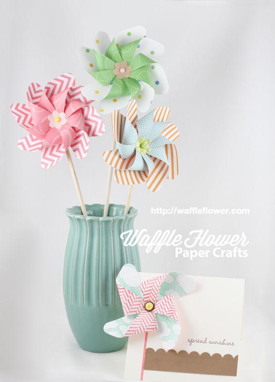Lifestyle Crafts Pinwheels die - tutorial on how to put together - bjl