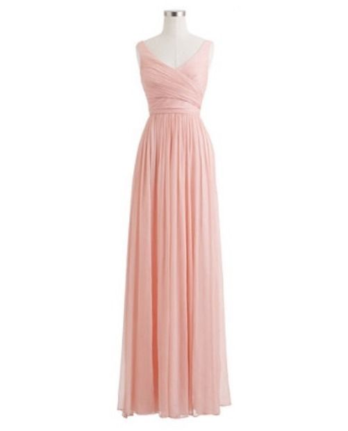 New! J. CREW Silk CHIFFON Long HEIDI GOWN (size 4) FORMAL, Wedding, Bridesmaid #JCrew #EmpireWaist #Formal