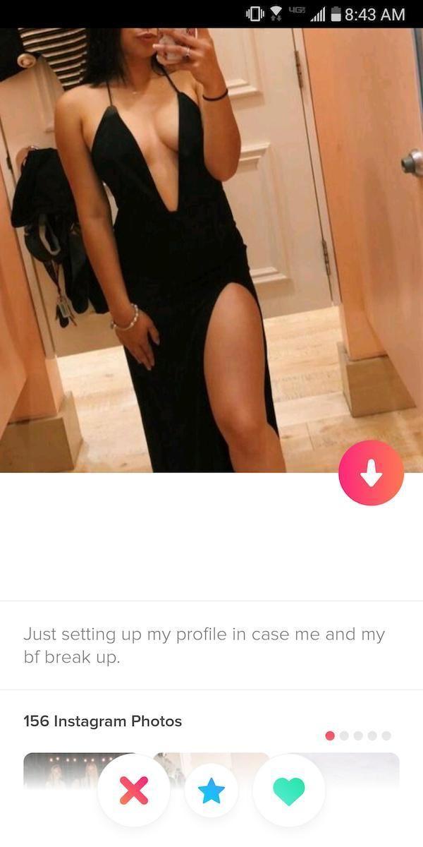 Fake profil tinder