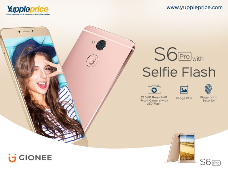Planning to buy a new #smartphone? #Gionee S6 Pro has ultimate specifications.