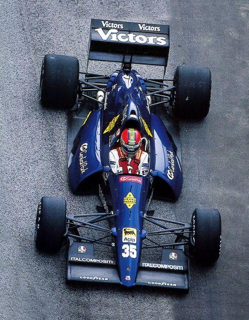 Eric van de Poele Lamborghini 1991