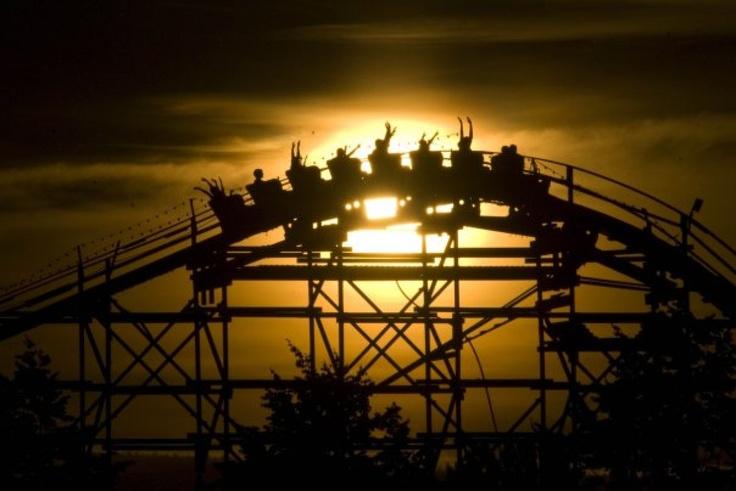 Roller Coaster - PNE Vancouver, BC, Canada