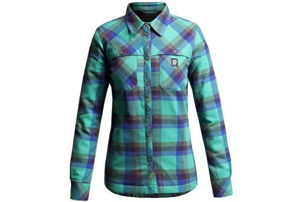 Women's Orage Cole Emerald Plaid Jacket  - Outfitters, Grouse Mountain, Vancouver - Pin It To Win It Contest