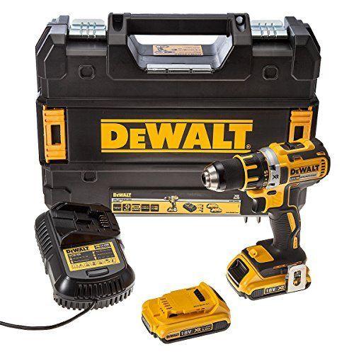 DEWALT DCD790D2 Perceuse visseuse Brushless avec 2 batteries en coffret Tstak 18 V 2 Ah: Cet article DEWALT DCD790D2 Perceuse visseuse…