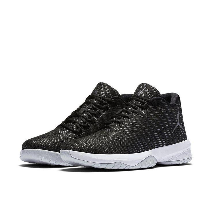Jordan B Fly / 881444-011 / Nike Men Air Black Dark Grey Pure Platinum