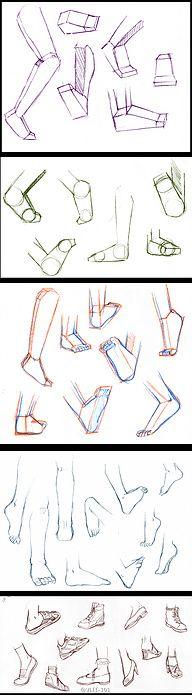 ♥…収.ღ, How to Draw Manga People,Resources for Art Students / Art School Portfolio @ CAPI ::: Create Art Portfolio Ideas at milliande.com , How to Draw Manga Figures, Whimsical Human Figure, Sketch, Draw, Manga, Anime