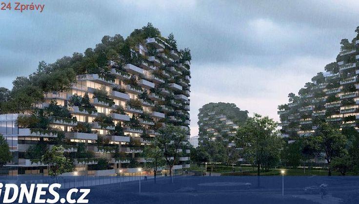 Město budoucnosti bude vypadat jako zelený les. Vyroste v Číně