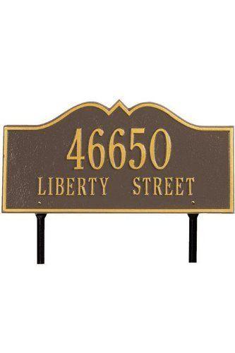 1000 Ideas About Address Plaque On Pinterest House Numbers House Number Plaques And Address