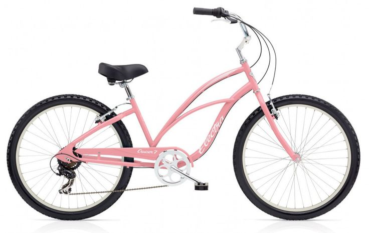 "Electra Cruiser 7 Speed 26"" Ladies Pink Steel Frame. $319.99 plus tax and shipping or pick-up in store. Call for details (949) 675.5010"