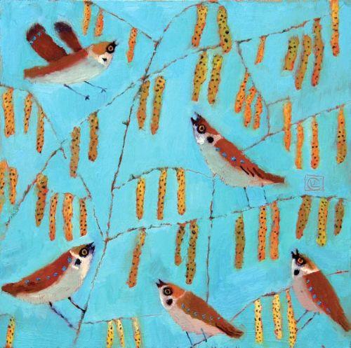 Sparrows & Catkins | Vanessa Cooper