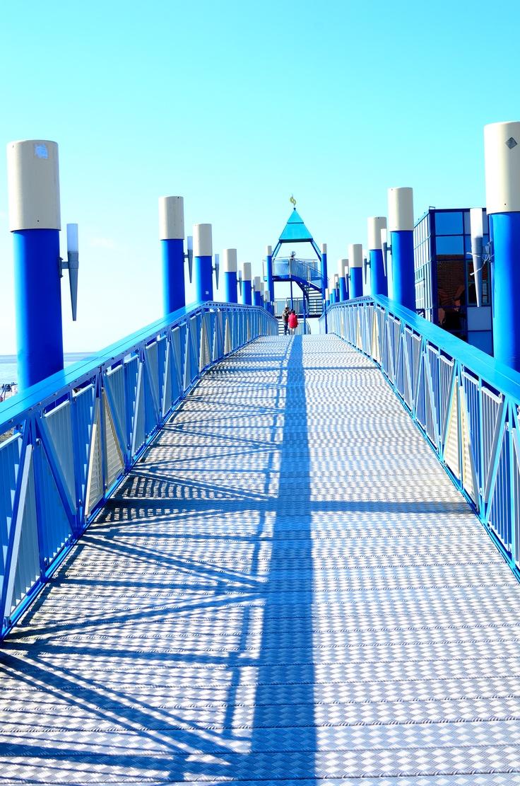 Brückenblau Norddeich
