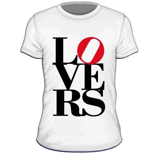 Maglietta personalizzata Lovers
