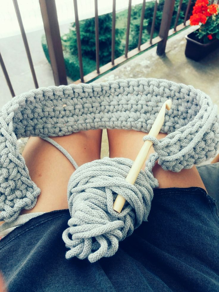 #crochet #summer #diy #doityourself #cottonstring #freetime #basket #inspiring #handicraft #knitting