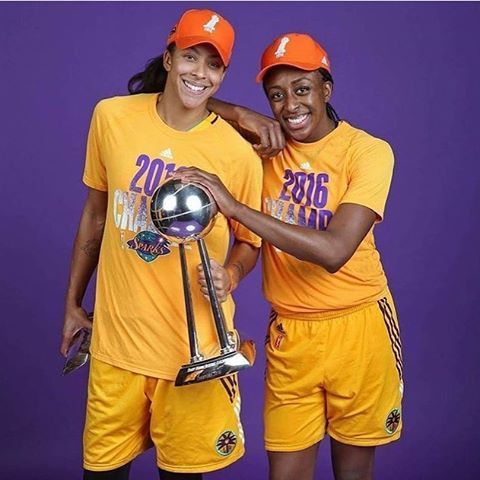 Candace Parker - 2016 Finals MVP and Nnemkadi Ogwumike- 2016 WNBA MVP