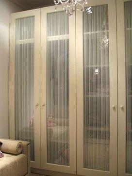 Praga Wardrobe System - so much prettier than sliding doors!