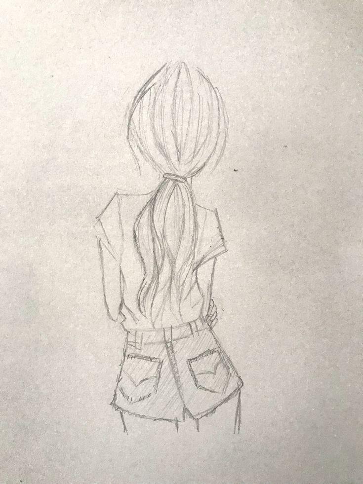 Mädchen zeichnen – #Mädchen #zeichnen