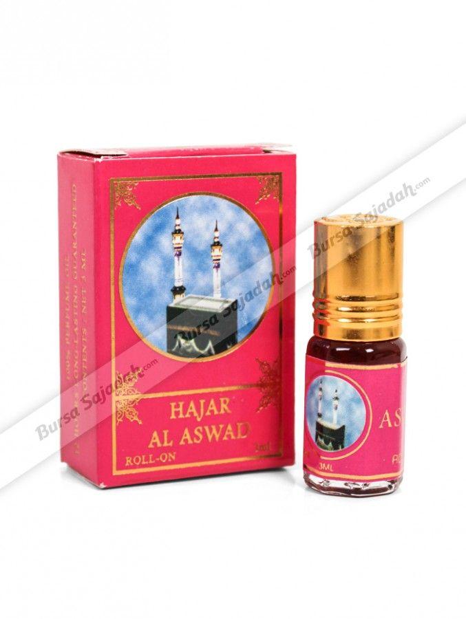 Parfum Hajar Al Aswad merupakan minyak wangi murni, sehingga aromanya tahan lama bahkan hingga mencapai 12 jam. Parfum non-alkohol dari Saudi Arabia dengan aplikasi roll-on ini sangat direkomendasikan untuk Anda penyuka aroma oriental dari anggur, oud, amber, & musk yang elegan.