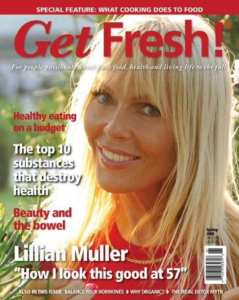 sexiest vegans over 50 | Lillian Muller: 60 year old Raw Vegan–PETA's Sexiest Vegetarian ...