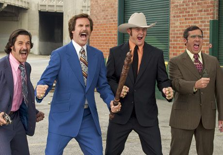 Anchorman, funniest movie I've yet to come across.