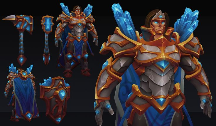 [Riot Art Contest] - Taric - Page 3 - Polycount Forum