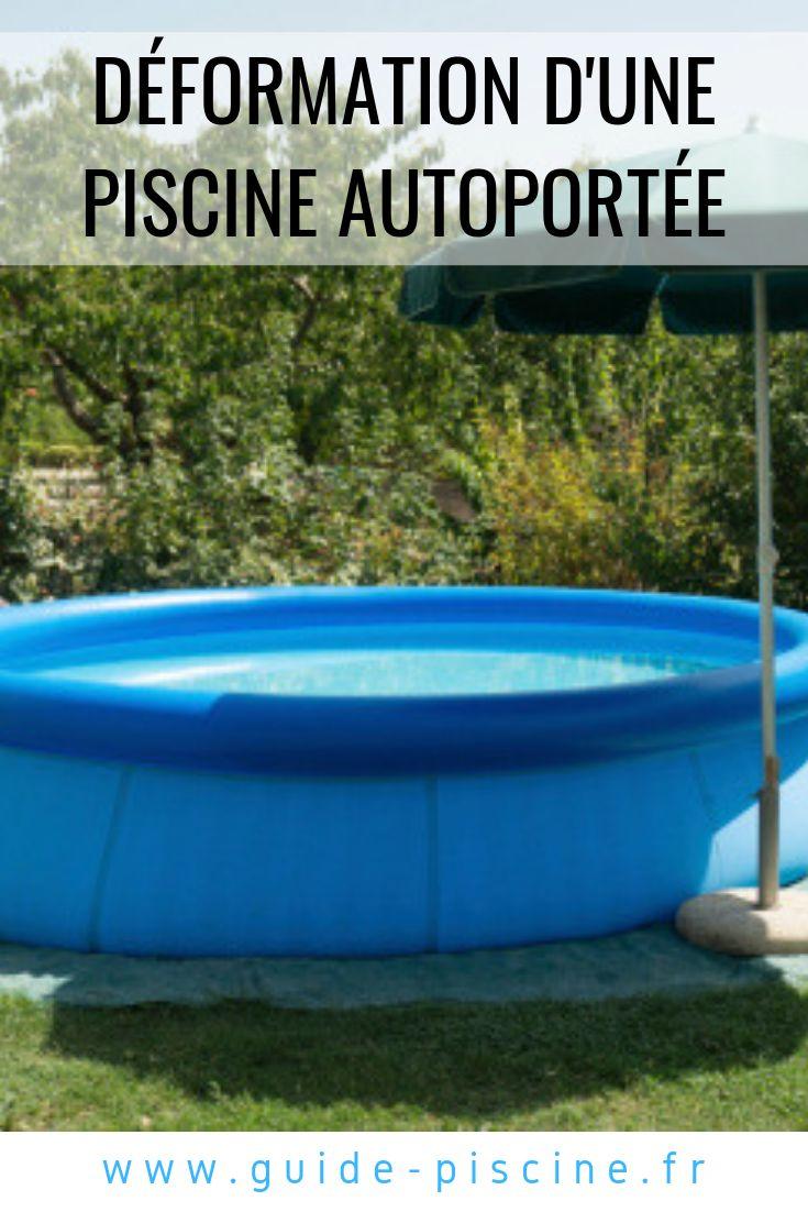 D formation d une piscine autoport e piscine gonflable - Comment faire une piscine pas cher ...