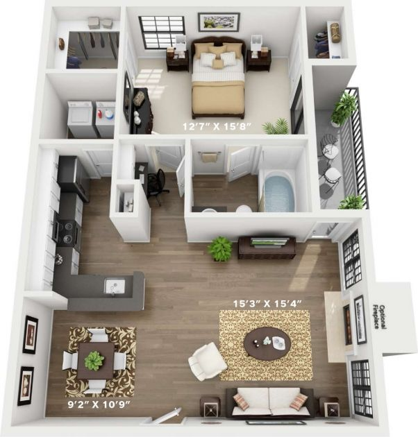 4 Bedroom Flat Interior Design In 2020 Sims House Design Sims House Plans Sims 4 House Design