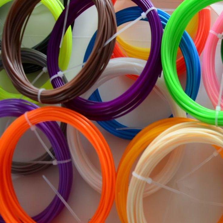 3D Filament 100M 10 colors ABS/PLA 1.75mm 3D Filament (20 colors to choose ) For 3D Printing Pen 3D Printer