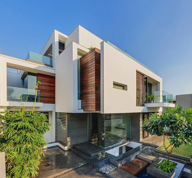 Pictures of modern houses in india