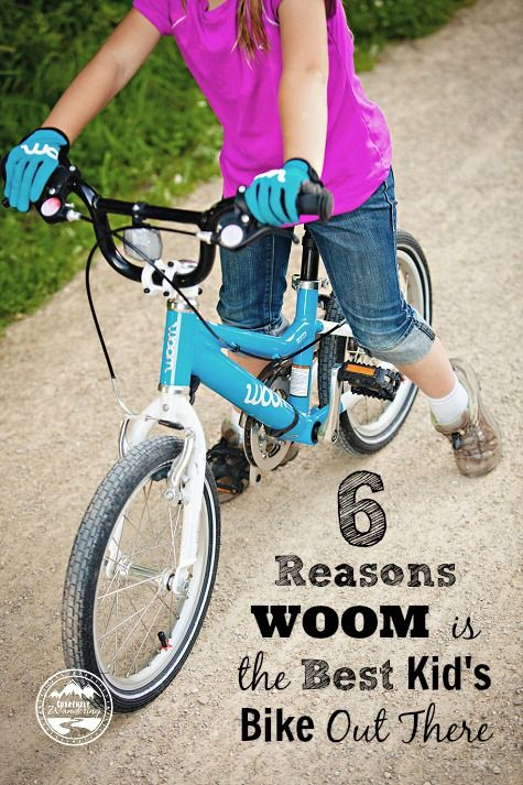 6 Reasons WOOM  is the BEST kids bike out there