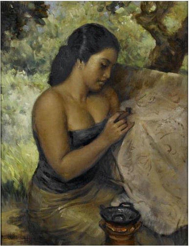 The paintings of Basuki Abdullah (1915 - 1993): An Indonesian Beauty