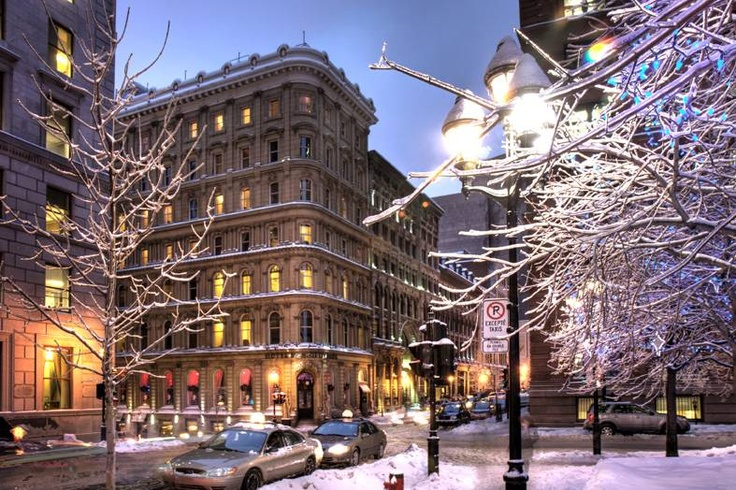 Love Montreal: Snowy Cities