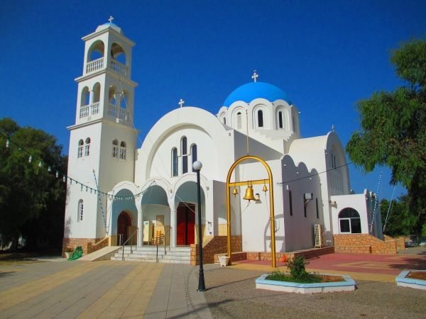 Church of Agioi Anargyroi in Skala