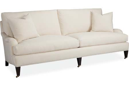Lee Industries 1673-32 Two Cushion Sofa - saw in Sunbrella fabric This is an incredibly comfortable sofa!