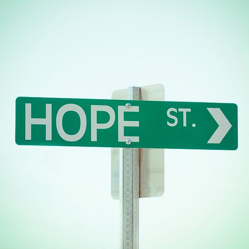 """HAVE STREET SIGN MAYBE AT THE CORNER OF PICKET FENCEWOULD LOOK CUTE W MAILBOX """"hope is the dream of the soul awake"""""""