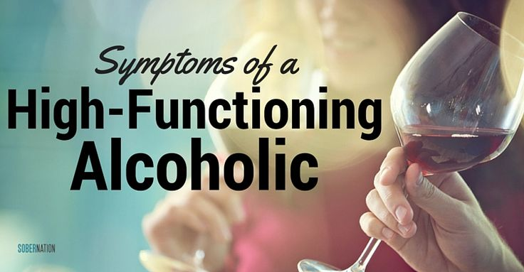High-Functioning Alcoholics manage to keep things togther on the outside - https://www.sobernation.com/the-symptoms-of-the-high-functioning-alcoholic/#utm_sguid=167060,85787953-47b2-0a38-5b16-e1fc14598b63