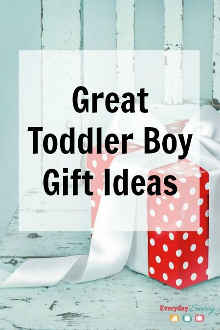 Great Toddler Boy Gift Ideas. Lots of fun things your toddler boys will love.