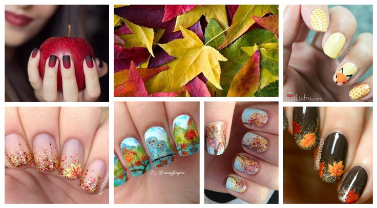 It's time for a pampering weekend! What do you say about an #autumn #manicure?    Check out the best #girlgames:http://www.girlgames4u.com/ ☁ ☂☁  #nails #girls #trends