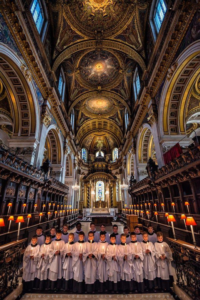 St Paul's Choir, London, England