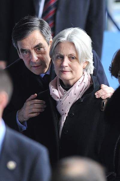 François Fillon et Penelope Fillon au Tournoi des VI Nations en 2012