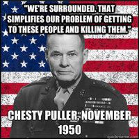 Warrior Culture : Chesty Puller Subculture : USMC