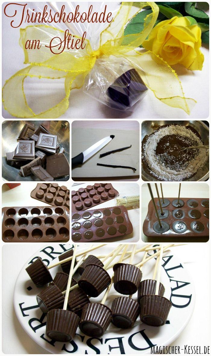 best 25 trinkschokolade am stiel ideas on pinterest diy. Black Bedroom Furniture Sets. Home Design Ideas