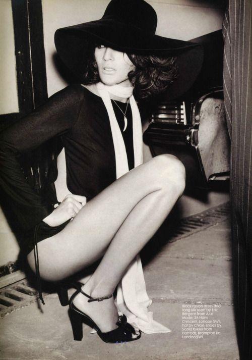 Astrid Munoz  The Face UK, July 1996  Stylist: Benjamin Galopin  Makeup: Tom Pecheux for Calliste  Hair: Marc Lopez for Brigitte Hebant