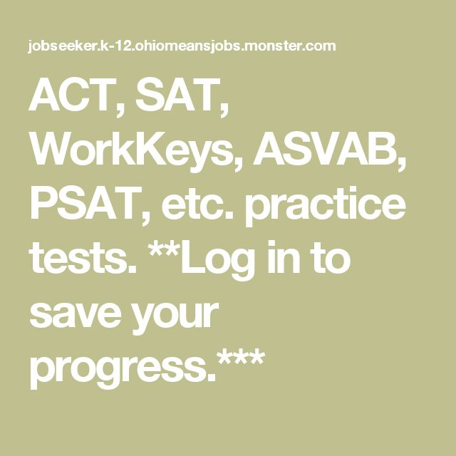 Best 25 workkeys test ideas on pinterest act practice test act sat workkeys asvab psat etc practice tests fandeluxe Image collections