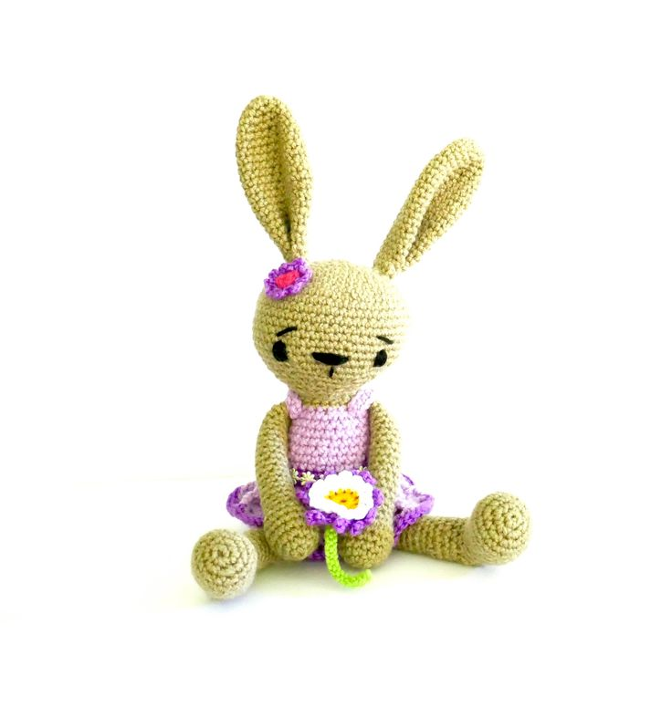 This bunny would be an adorable Easter present!