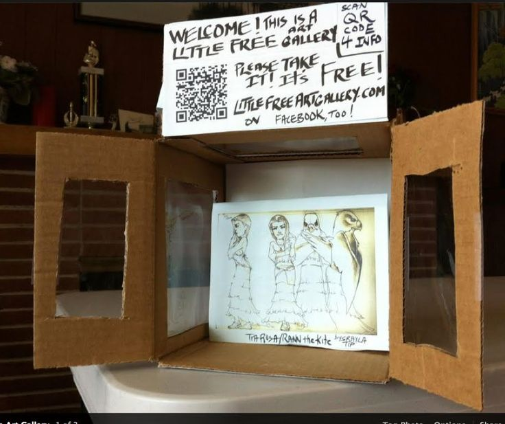 This is a Placeholder for the Galleries  page which will include:     1. Photos of Little Free Art Gallery installations, including link...