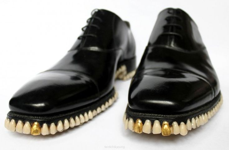 Apex Predator Shoes Made Of 1,050 Teeth (not real ones thank goodness)